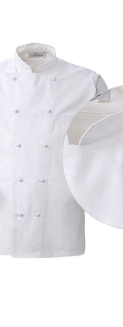 Giacca Chef Classic White Made in Italy