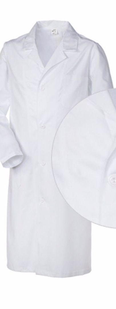 Camice Medico 100% cotone Ottima Vestibilità (Slim) Made in Italy