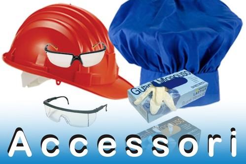 Accessori, elmetti, occhiali, guanti e cappelli